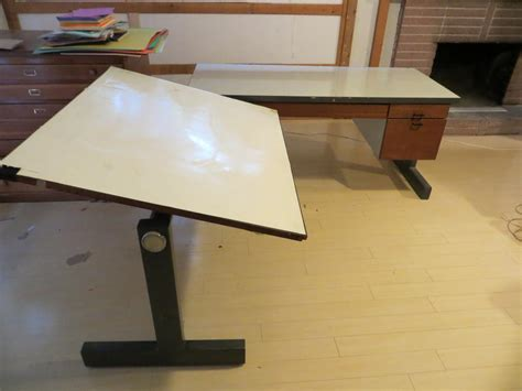 L Shaped Drafting Desk Two Drafting Table With Desk L Shaped Saanich