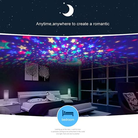 aeeque led star projector night light usb rotating projector starry night l star sky romantic