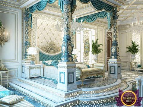 bedroom design  dubai luxury royal master bedroom