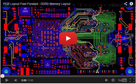 ddr3 layout video video imx6 ddr3 memory layout preliminary connections