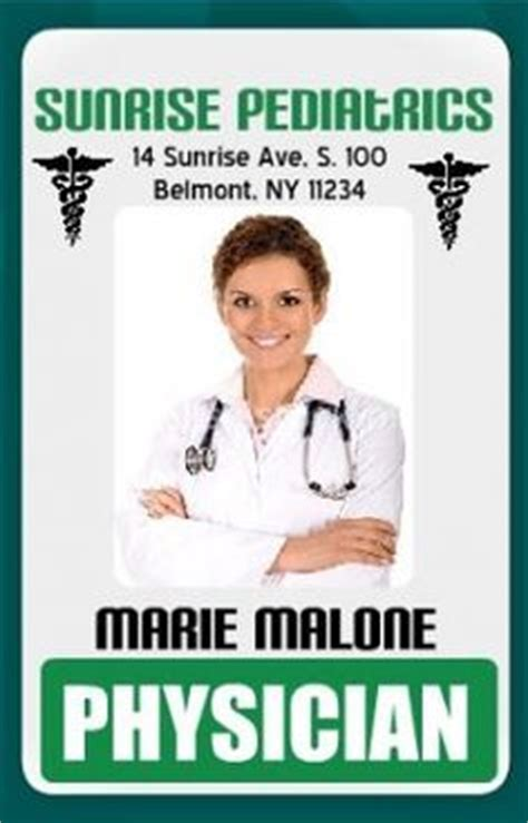 doctor id card template 1000 images about id cards on id badge id badge maker and card templates