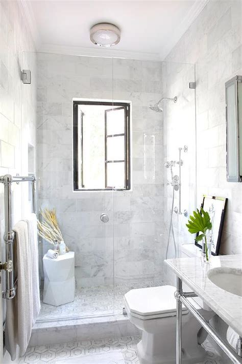 small marble bathroom ideas shower with french windows transitional bathroom