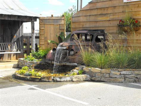 Gartengestaltung Ideen Kleiner Garten 5931 by Waterfall Feature From An Truck Garten