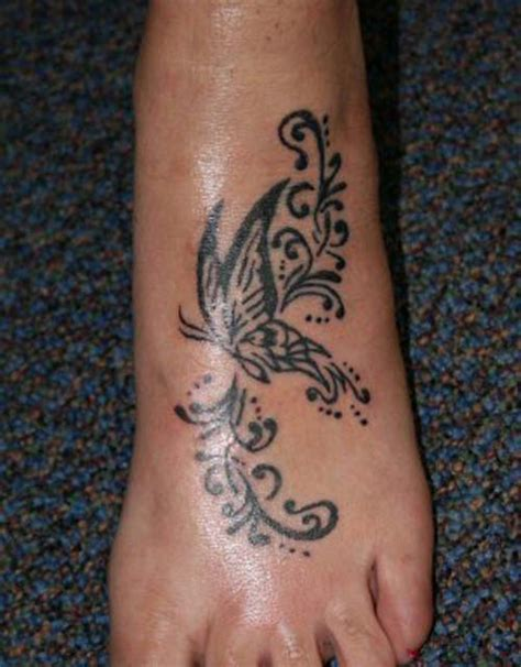 girl tattoos on foot designs foot butterfly designs expo