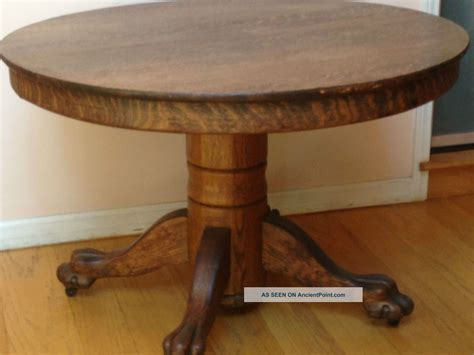 antique round table with claw evaboereks june 2015