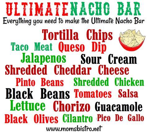 nacho bar toppings list national nacho day how to make the ultimate nacho bar