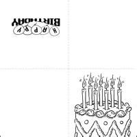 printable birthday cards black and white happy birthday cards printable black and white