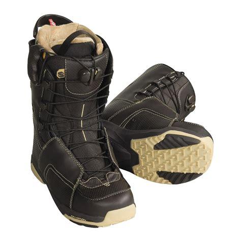 salomon snowboard boots salomon f22 snowboard boots for 79058 save 35