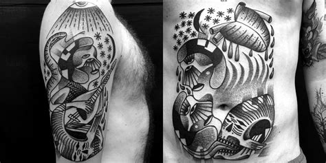 dotwork tattoo artists 10 artists using dotwork to create meticulous tattoos