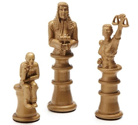 approach the bench legal themed chess set craziest gadgets