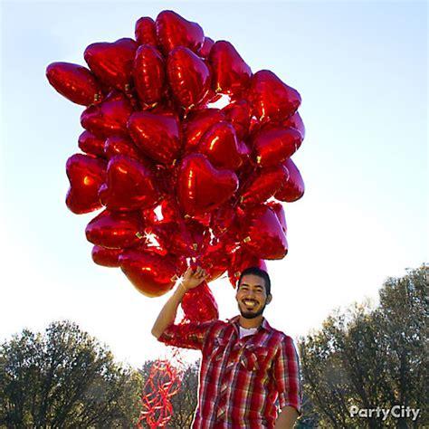big valentines day balloons balloon bouquet idea valentines day balloon