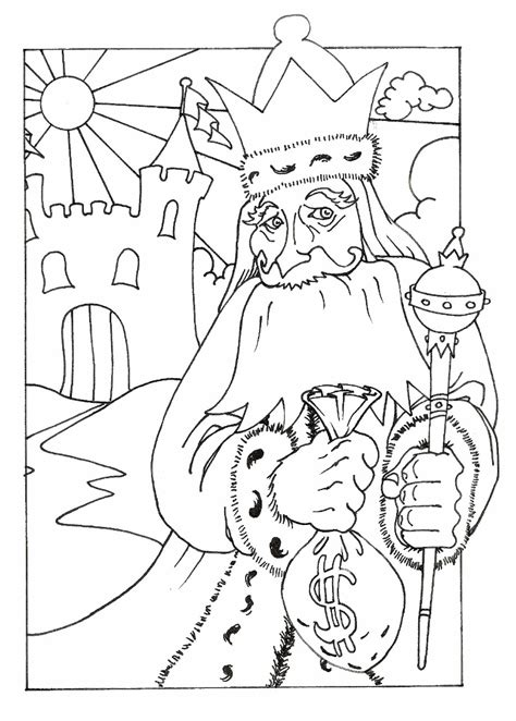 Coloring Pages Of King Midas   black and white biplane sketch coloring page