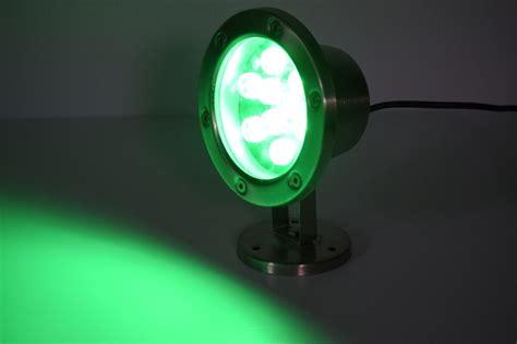 Led Dock Light Bulbs 9 Watt Green Led Stainless Dock Light 720 Total Lumens 12 Volt 9 Wg 12ss Boat Lift