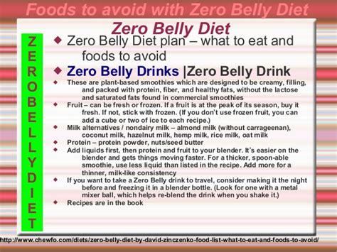 what diet plan does anna kaiser suggest zero belly diet david zinczenko 2014