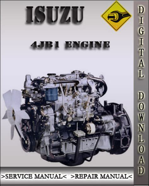 small engine repair manuals free download 1992 isuzu impulse electronic valve timing isuzu 4jb1 4ja1 4jb1t 4jb1tc engine factory service repair manual