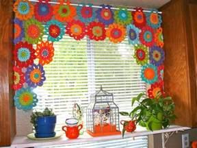 Crochet Window Valance Merveilleux Rideaux Au Crochet Crochet Et Plus Crochet
