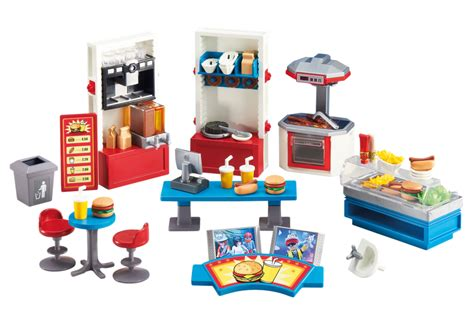 pirate schlafzimmer set fast food restaurant 6441 playmobil 174 usa
