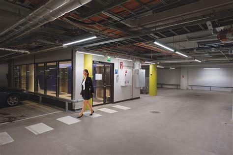 Parking Garage Lighting by Modular Property Lighting Meltron