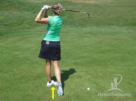 golf swing balance tips balance in the swing setup
