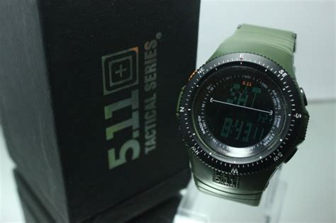 Jam Tangan Tactical 5 11 Black Ops jual jam 5 11 tactical field ops hijau army