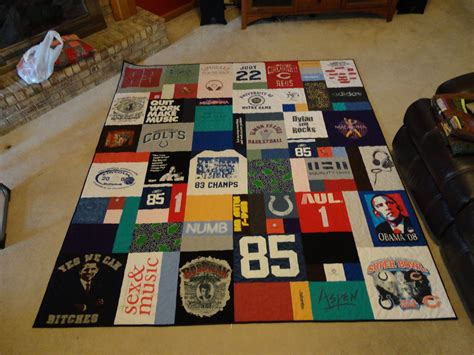 t shirt comforter t shirt and jersey quilts wandalandquilts
