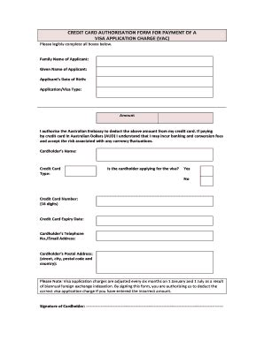 Credit Card Authorisation Form Template Australia August 2017 End Of The World Forms And Templates Fillable Printable Sles For Pdf Word