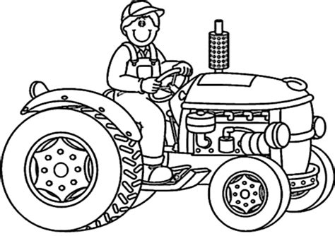 ausmalbilder traktor kostenlos malvorlagen zum