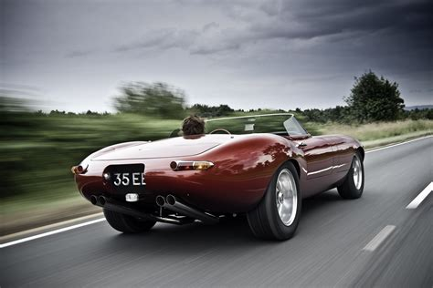 The Speedster eagle speedster a tribute to the classic jaguar e type