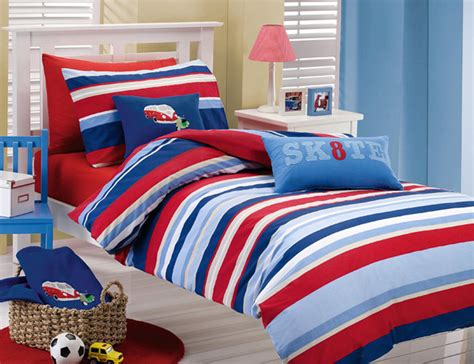 boys striped bedding outstanding bed linen awesome boys striped bedding blue