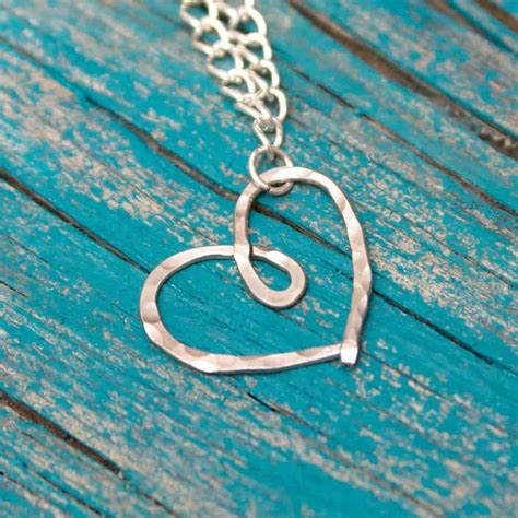 how to make hammered jewelry hammered necklace