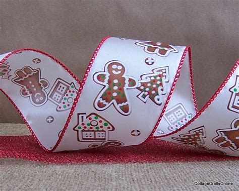 wired ribbon crafts gingerbread wired ribbon from cottage crafts crafts decor