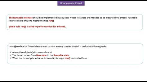 java tutorial runnable java ee java tutorial java threads how to create a