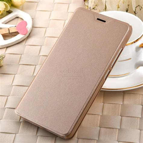 Gea Flip Cover Xiaomi Mi Note Gold aliexpress buy luxury pu leather smart flip cover for xiaomi redmi note 4 pro with