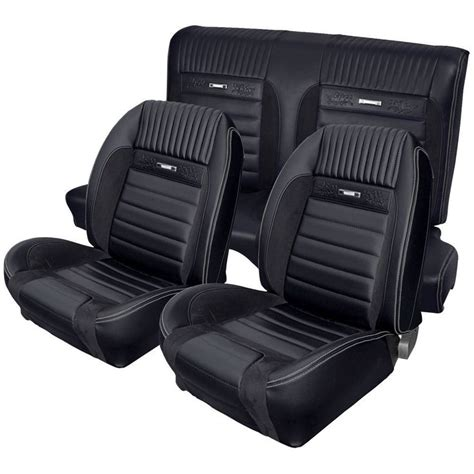 1965 mustang fastback seat covers deluxe pony upholstery for 1964 1 2 1966 mustang 2 2