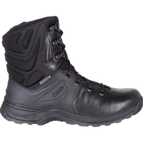 Dw Paket 0041 2 rocky alpha tac black 8 quot waterproof duty boot