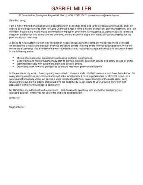 industrial placement cover letter pharmacist cover letter template cover letter templates