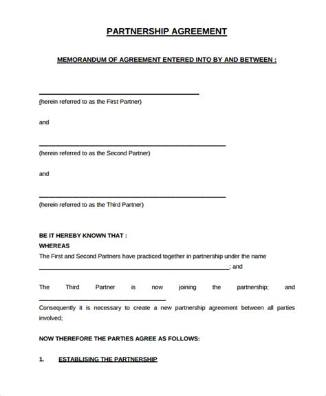 partnership dissolution agreement template sle partnership dissolution agreement templates 7