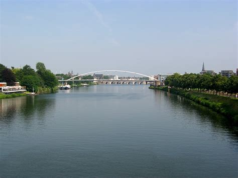 John Kennedy by File Maastricht 2008 Meuse River Jpg Wikimedia Commons