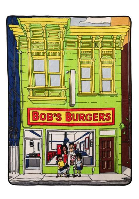 Bob S Mattress Warehouse by Bob S Burgers Bob S Burgers Storefront Fleece Blanket