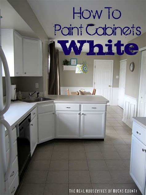how to paint kitchen cabinets white casual cottage