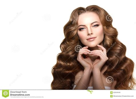 long waves curls updo hairstyle salon fashion