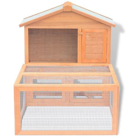 gabbie per conigli in legno vidaxl gabbia per conigli da esterno in legno vidaxl it