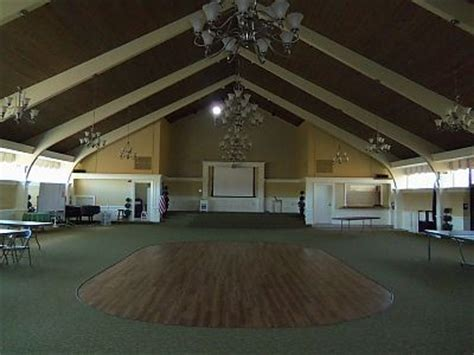 church hall rental
