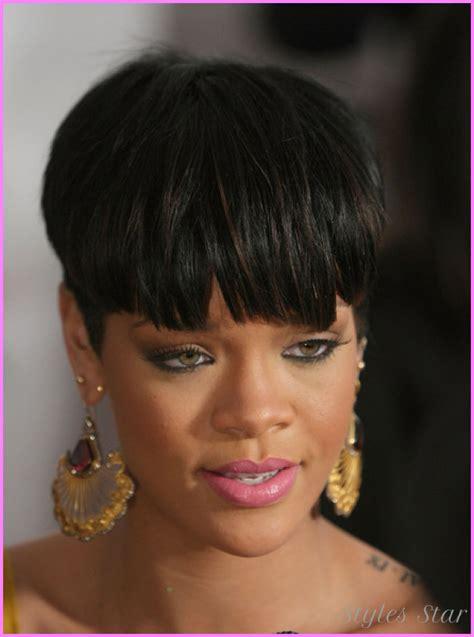 Rihanna short hair cuts   StylesStar.Com