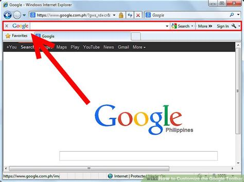 reset google toolbar restore toolbar internet explorer bing images