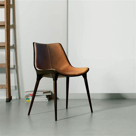 Modern Leather Dining Chair Langham Modern Dining Chair Modloft
