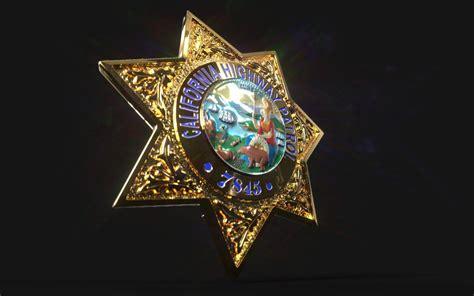 california highway patrol police sheriff badge