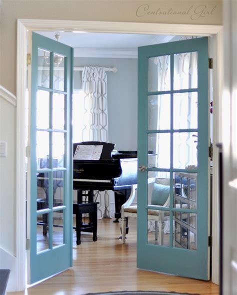how to paint a bedroom door painted french doors centsational girl