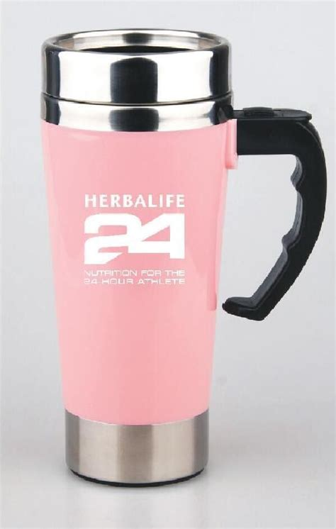 Ripple New Self Stirring Mug Pink herbalife 24 500ml self stirring mug auto mixing health