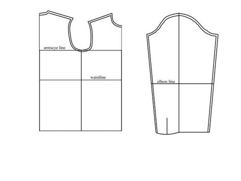 pattern drafting for shirt drafting the men s shirt block sewing pattern drafting